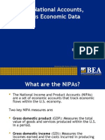 National accounts and Census data