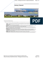 Missouri - Attorney General Mortgage Foreclosure Tool Box
