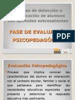 PROCESO DE DETECCIÓN E IDENTIFICACIÓN DE ALUMNOS.....