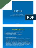 Cours Le deuil Dr Sandrine TRAPE - UE7A
