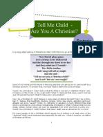 Newsletter December 2008 - Tell Me Child