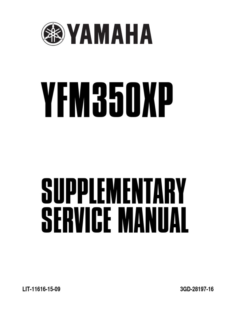 warrior 350 service manual pdf