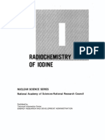 The Radio Chemistry of Iodine.us AEC