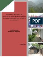 Documento Sistematización de Conflictos