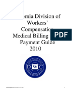 California Divison of Worker Compensation and Medical Billing & Payment Guide