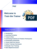 Train the Trainer 3 Hour