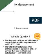 Quality Management - DKTES 5 Feb 2011