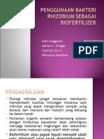 Penggunaan Bakteri