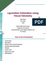 Visual Odometry