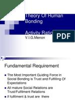 Theory of Human Bonding Part II