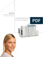 Canon Clc 1110 Photocopier Brochure
