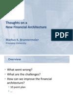 Brunnermeier New Financial Architecture