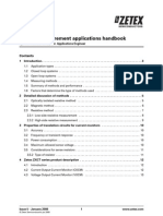 Current Measurement Applications Handbook