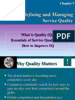 Credence Quality in Services