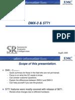 DMX-3 & 5771 Config