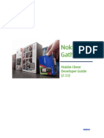 Nokia Data Gathering Mobile Client Developer Guide