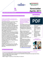 Newsletter SIID Aprile 2011