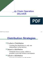 Deliver in scm