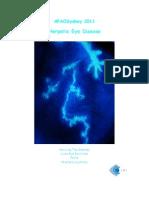 Herpes Eye Disease 2011