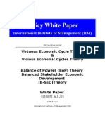 Virtuous and Vicious Economic Cycles Theory