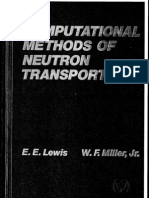 Computational Methods of Neutron Transport by Miller