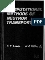 Computational Methods of Neutron Transport by Miller