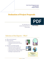Evaluation of Project Proposals in FP7