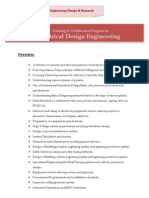 Electrical Design Engineering Course