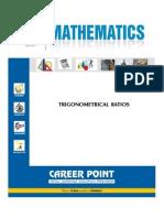 IIT Maths Trigonometric Ratio