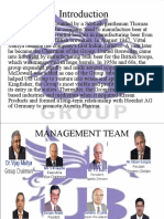Presentation on UB Group