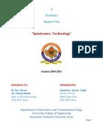 Spintronics Report