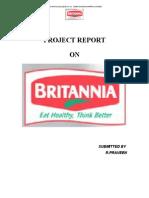 Project Report Britannia