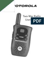 Manual Uso Motorola Walkie