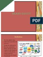 Customer Base Brand Equity