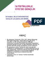 İstatistiklerle Türkiye'de Gençlik, İstanbul Bilgi Üniversitesi