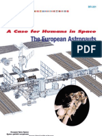 A Case for Humans in Space, The European Astronauts