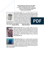 Biogas Digester AARTI - SET Product Catalog