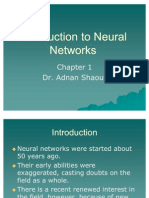 Introduction to Neural Networks - Chapter1