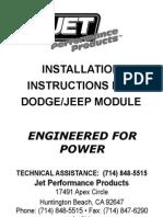 Dodge Jeep ModuleV2!14!08