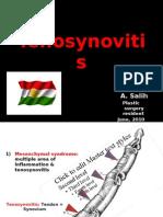 TENOSYNOVITIS PPT