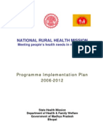 National Rural Health Mission Implementation Plan 2006-12