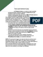 Pasos Para Hackear La Psp 6.20