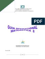 Guia Operacional Math 8