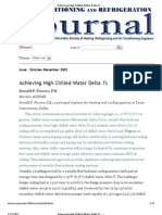 Achieving High Chilled-Water Delta Ts - Issue Oct-Dec 2002