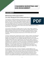 B2B Module Assignment Case 2010-11