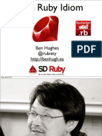The Ruby Idiom