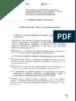 Programa de Direito Comercial 1o Bimestre