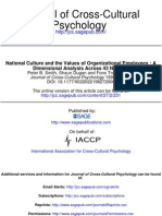 LT 6 -7 National Culture and the Values of Organizational Employees- A Dimensional Analysis Across 43 Nations