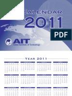Ait Calendar 2011