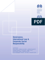 Governance, International Law & Corporate Social Responsibility